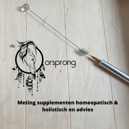 Meting supplementen homeopatisch & holistisch en advies